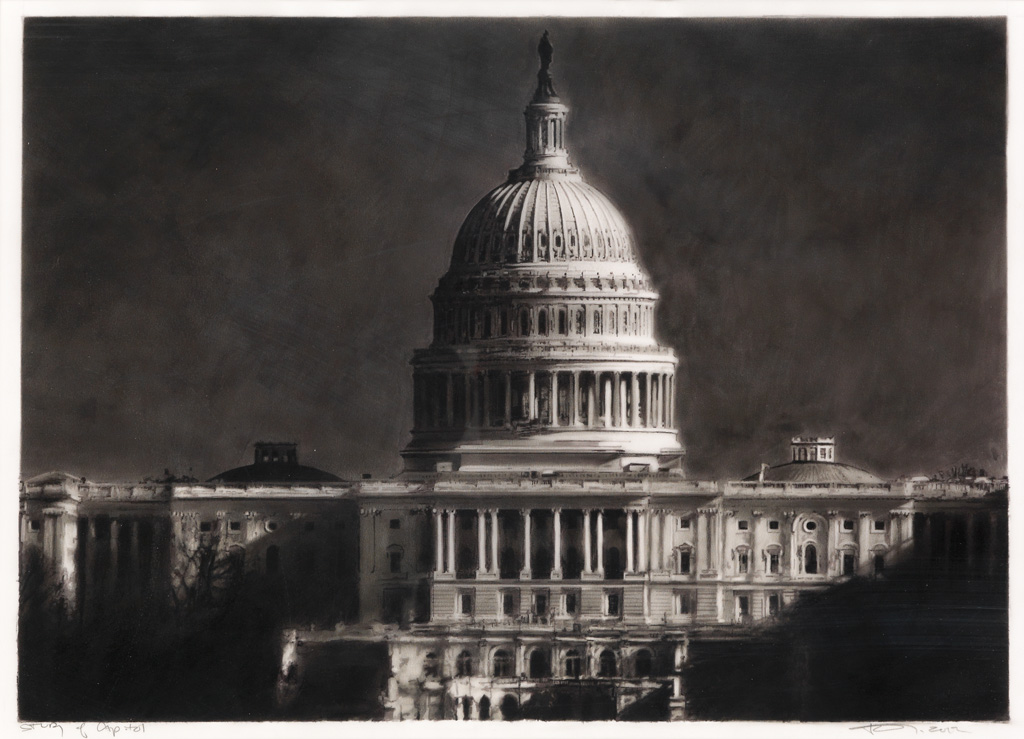 ROBERT LONGO Study of the Capitol.