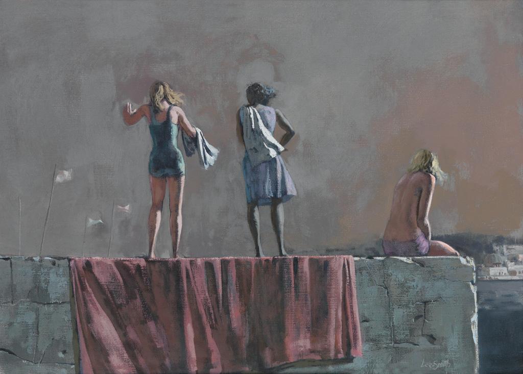 HUGHIE LEE-SMITH (1915 - 1999) Untitled (Three Women).