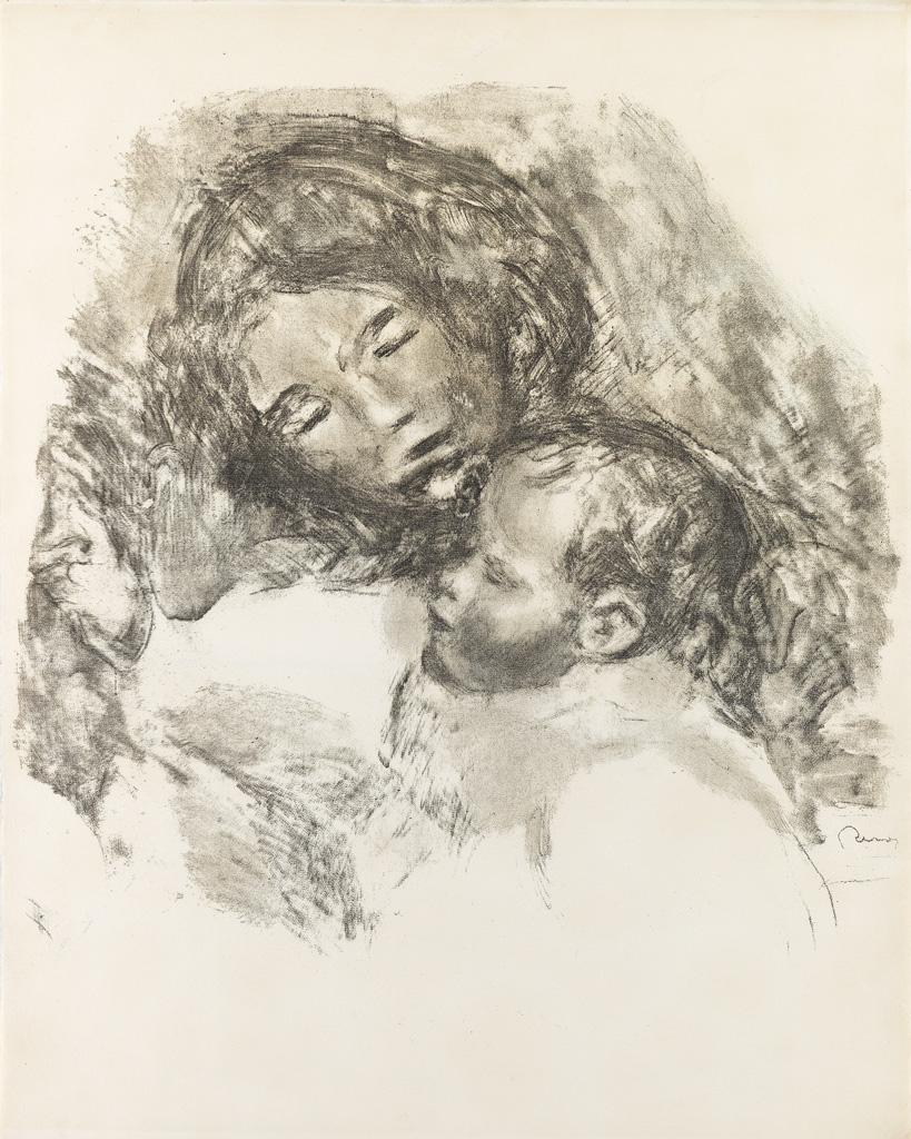 PIERRE-AUGUSTE-RENOIR-Maternité-grande-planche