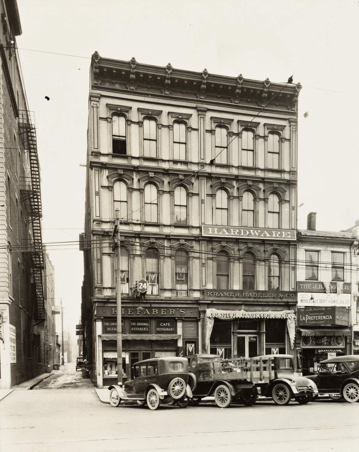 WILLIAM MAYFIELD (1896-1974) A selection of 6 photographs of Dayton, Ohio.