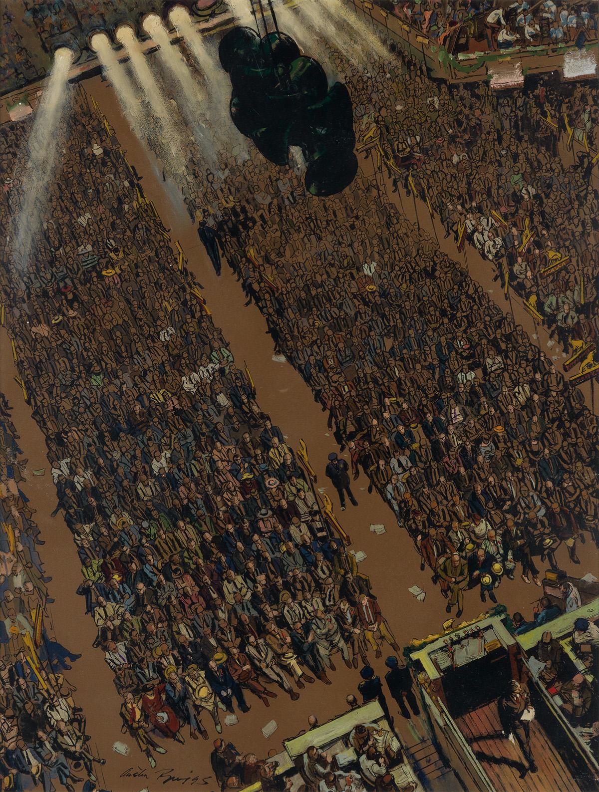 POLITICS-AUSTIN-BRIGGS-The-speech-was-over;-the-huge-crowd-s