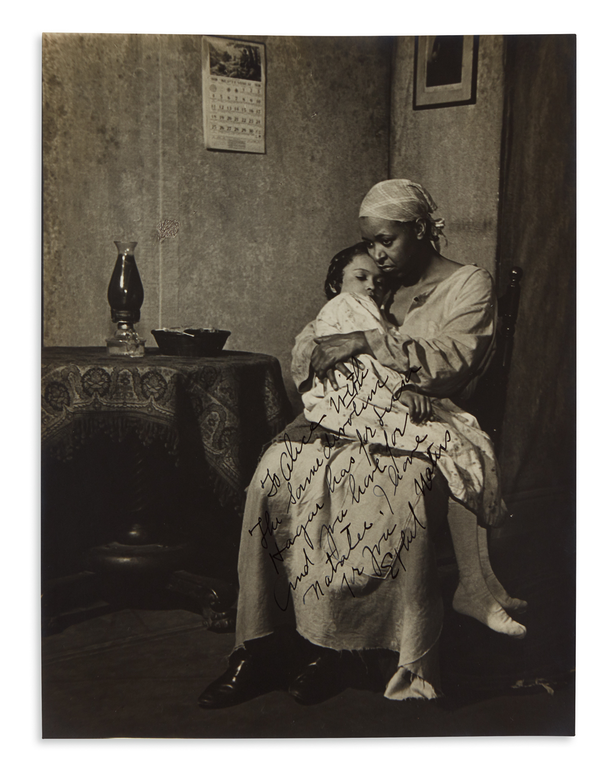 WATERS-ETHEL-Two-items-Photograph-Signed-and-Inscribed--Leng