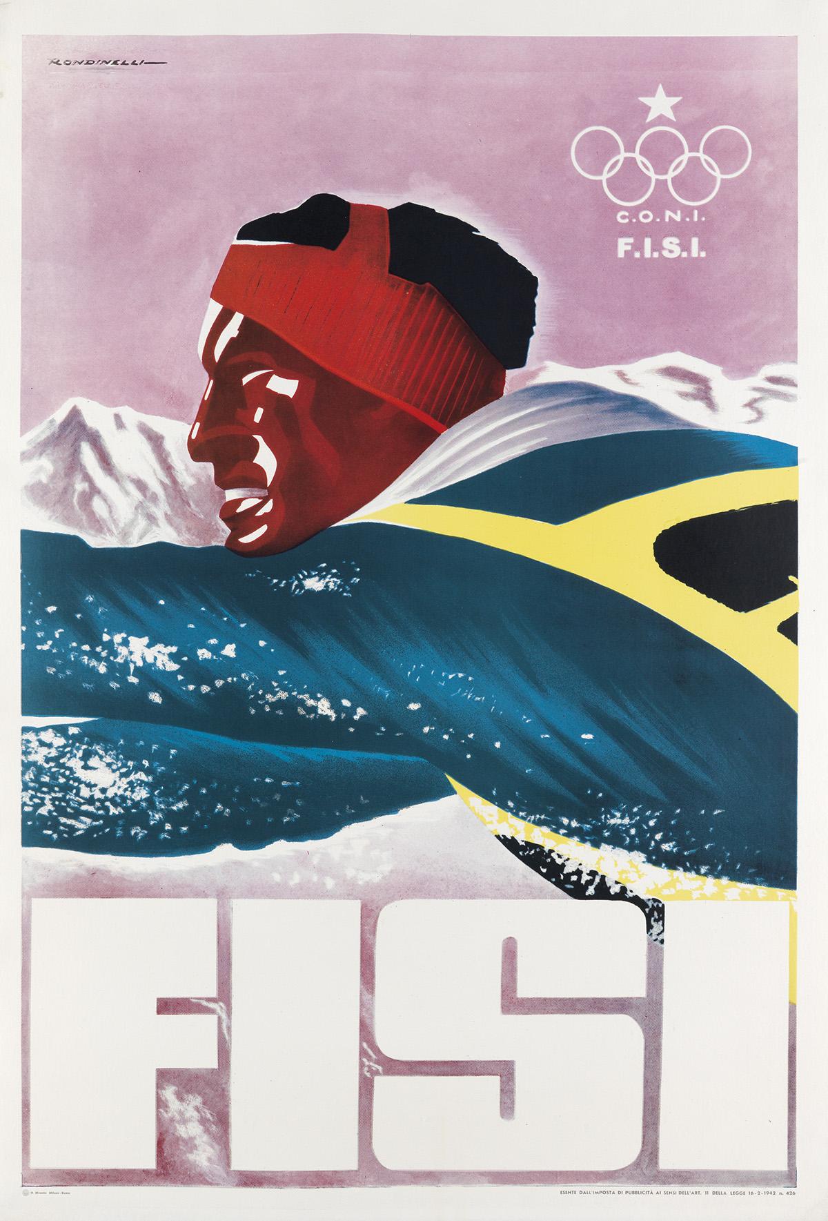 FRANCO-RONDINELLI-(DATES-UNKNOWN)-FISI-1942-40x27-inches-101x70-cm-N-Moneta-Milan