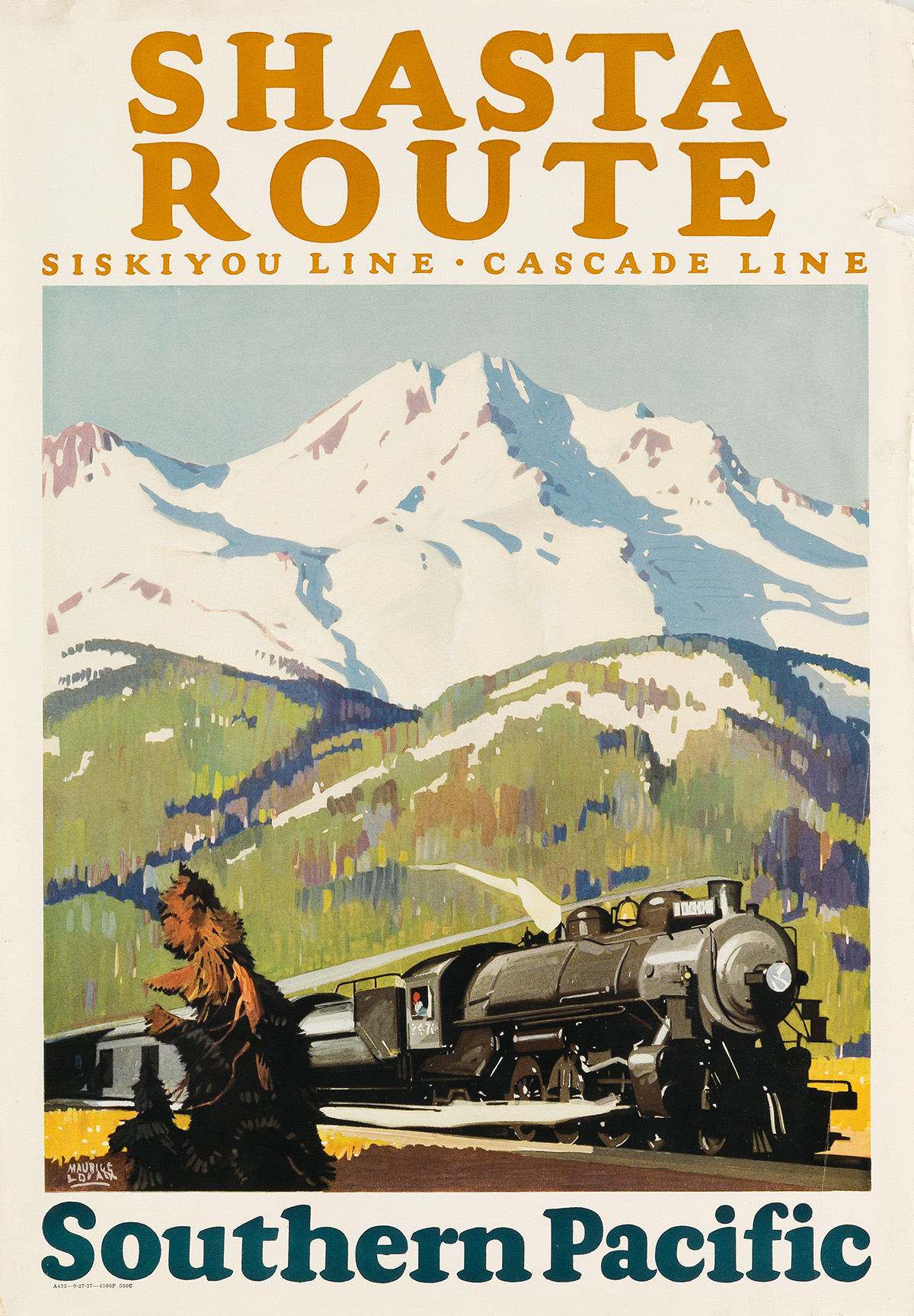 MAURICE-LOGAN-(1886-1977)-SHASTA-ROUTE--SOUTHERN-PACIFIC-192