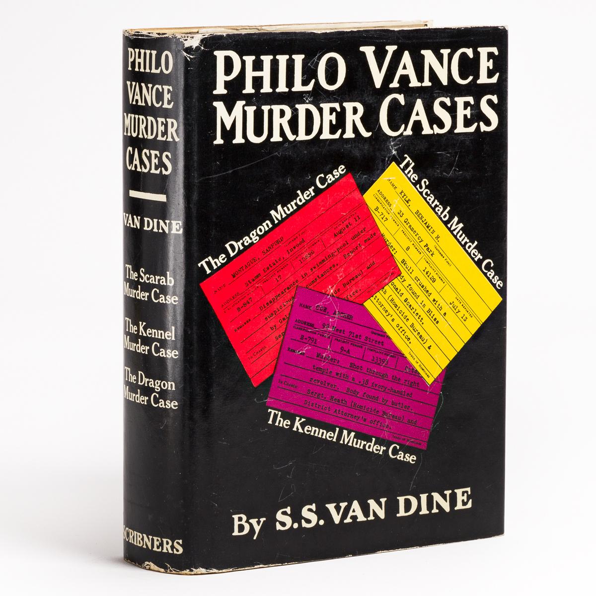 VAN DINE, S.S. Philo Vance Murder Cases.