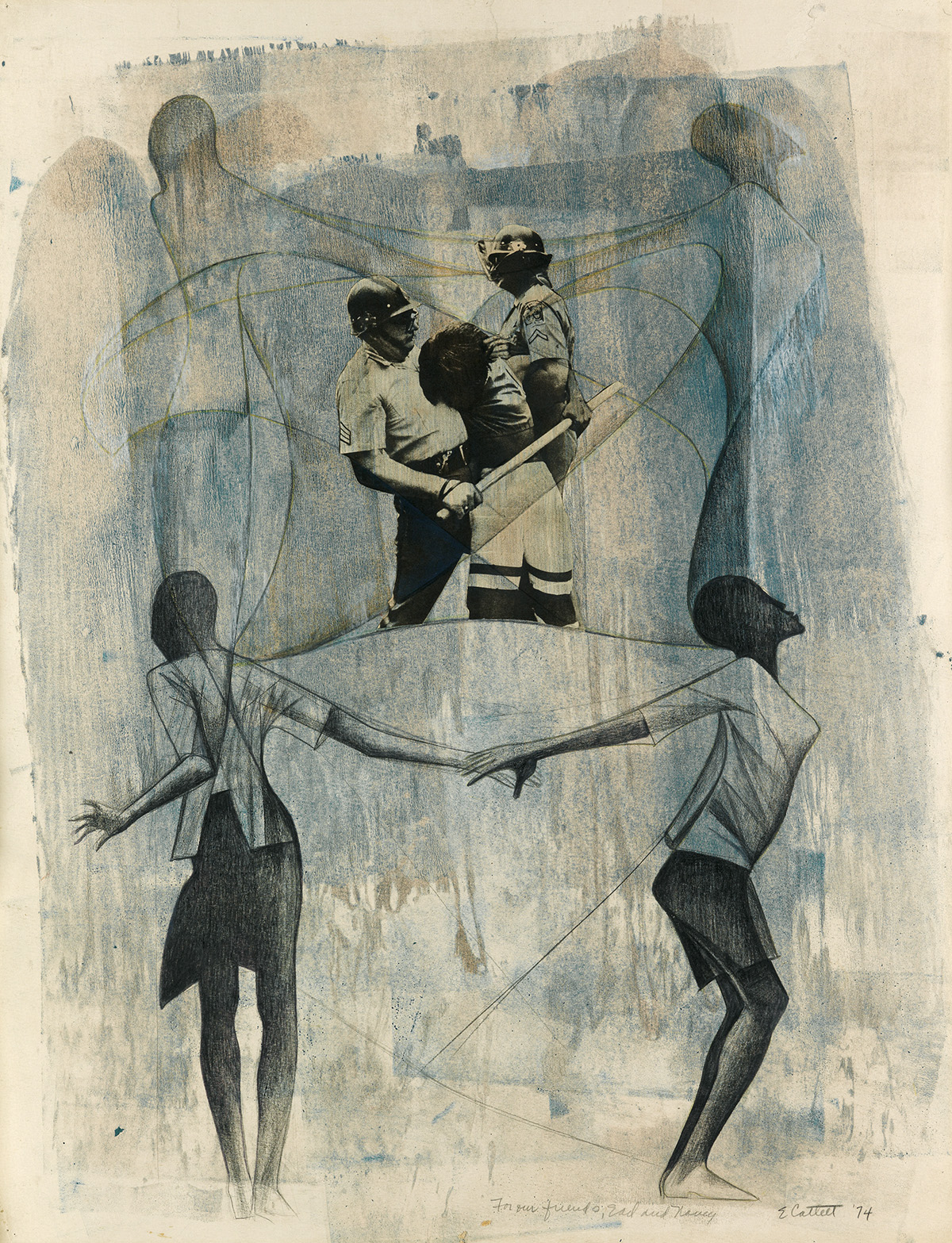 ELIZABETH-CATLETT-(1915---2012)-Untitled-(Civil-Rights-Prote