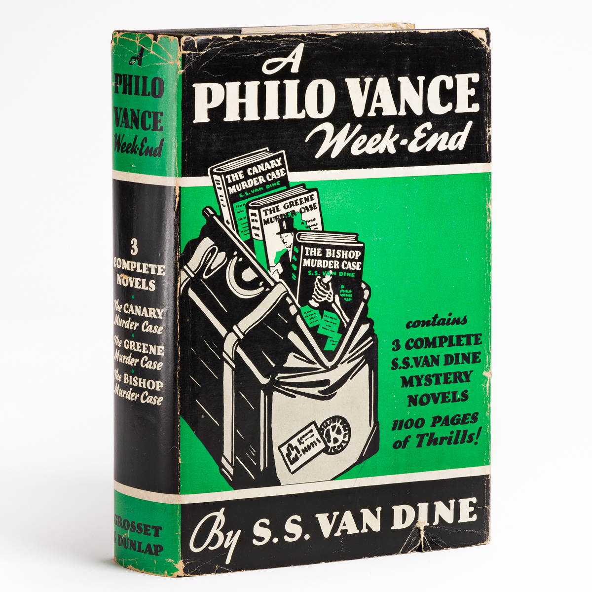 VAN DINE, S.S. A Philo Vance Week-End.