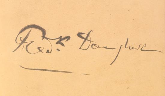 (DOUGLASS, FREDERICK.) Frederick Douglasss copy of Undine and Sindram and her Companions by Friederich de la Motte Fouque.