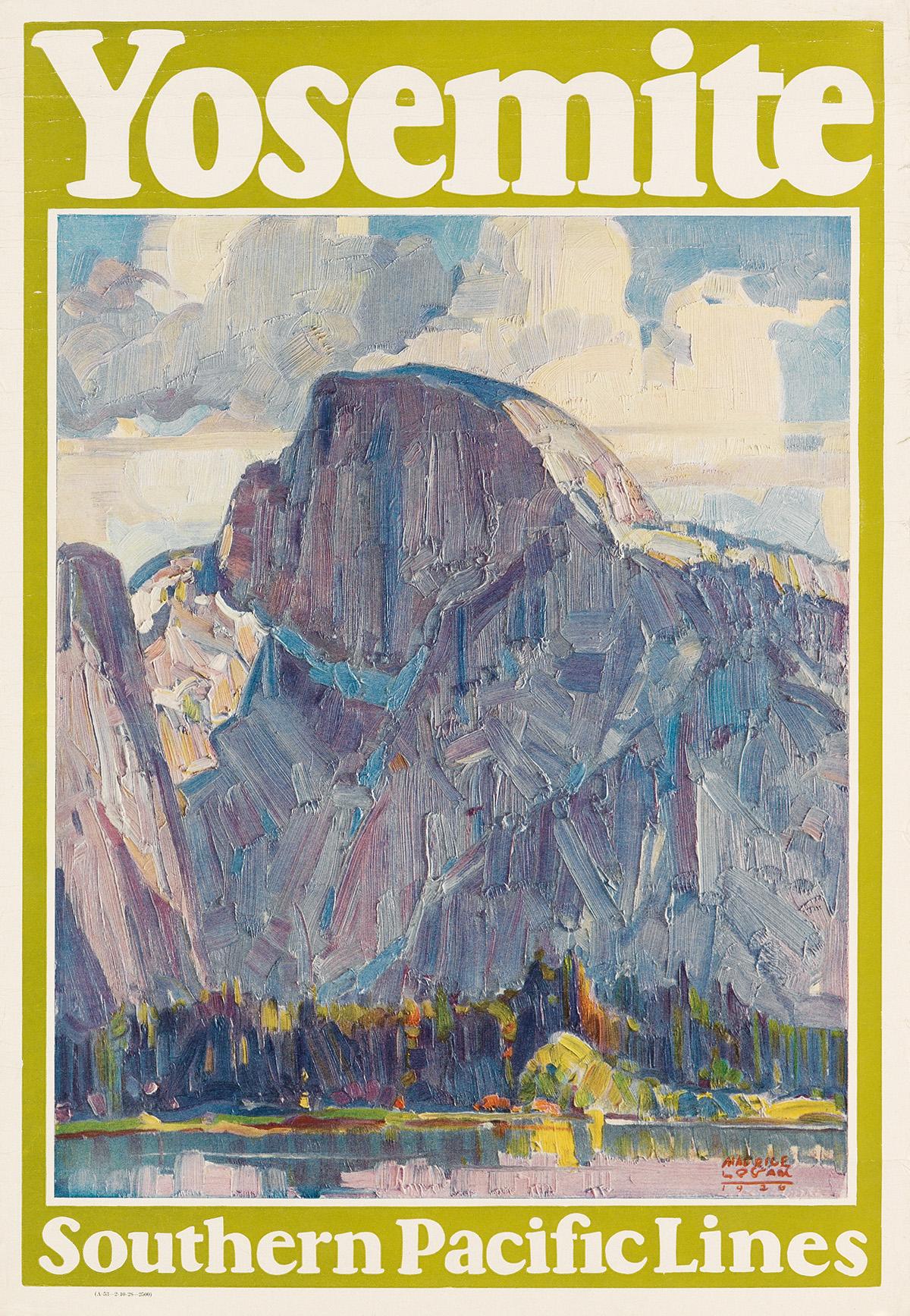 MAURICE-LOGAN-(1886-1977)-YOSEMITE--SOUTHERN-PACIFIC-LINES-1