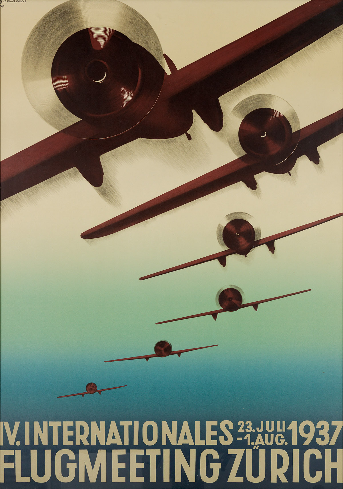 OTTO-BAUMBERGER-(1889-1961)-IV-INTERNATIONALES-FLUGMEETING-Z