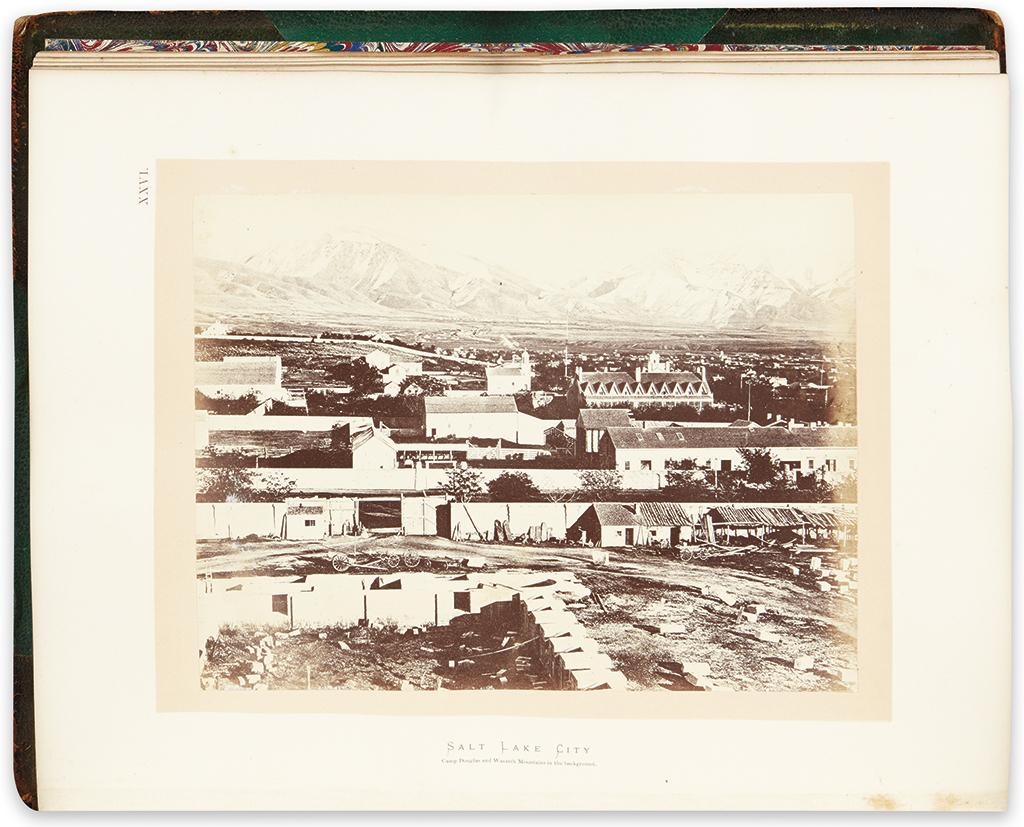 (WEST.) Hayden, Ferdinand V. Sun Pictures of Rocky Mountain Scenery.