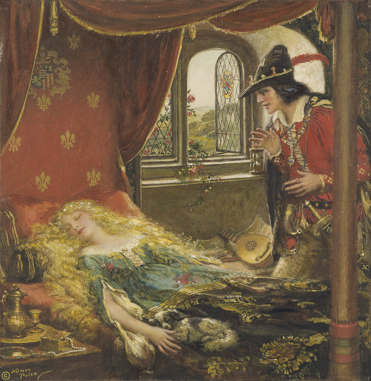 NORMAN PRICE. (FAIRY TALES / FABLES) The Sleeping Beauty.