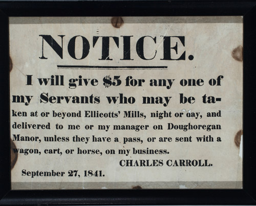 (RUNAWAY-SLAVE-BROADSIDE)-Notice-I-will-give-5-for-any-one-o