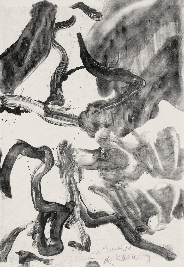 WILLEM-DE-KOONING-Reflections-To-Kermit-for-Our-Trip-to-Japan