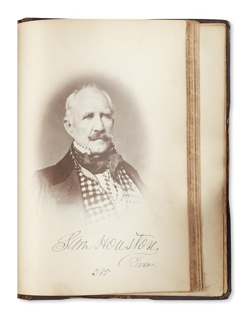 (PHOTOGRAPHY.) McClees, James E. McClees Gallery of Photographic Portraits of the Senators, Representatives & Delegates