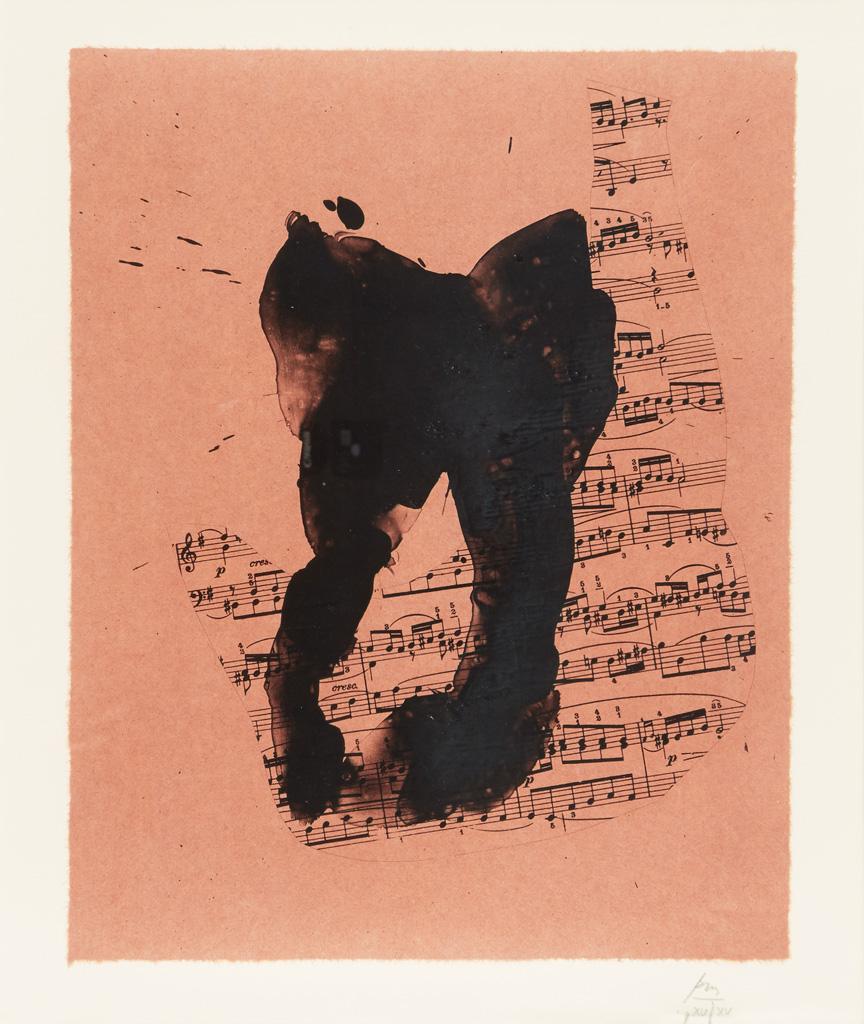 ROBERT MOTHERWELL Music for J. S. Bach.