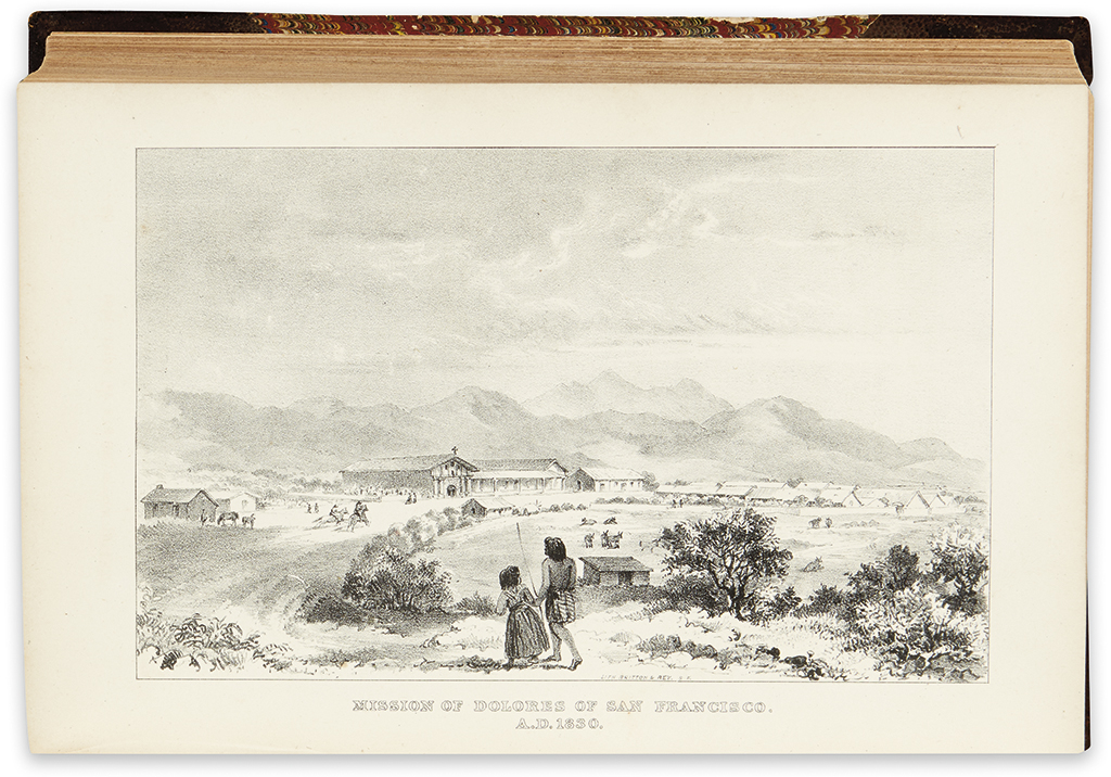 (CALIFORNIA.) Dwinelle, John W. The Colonial History of the City of San Francisco.