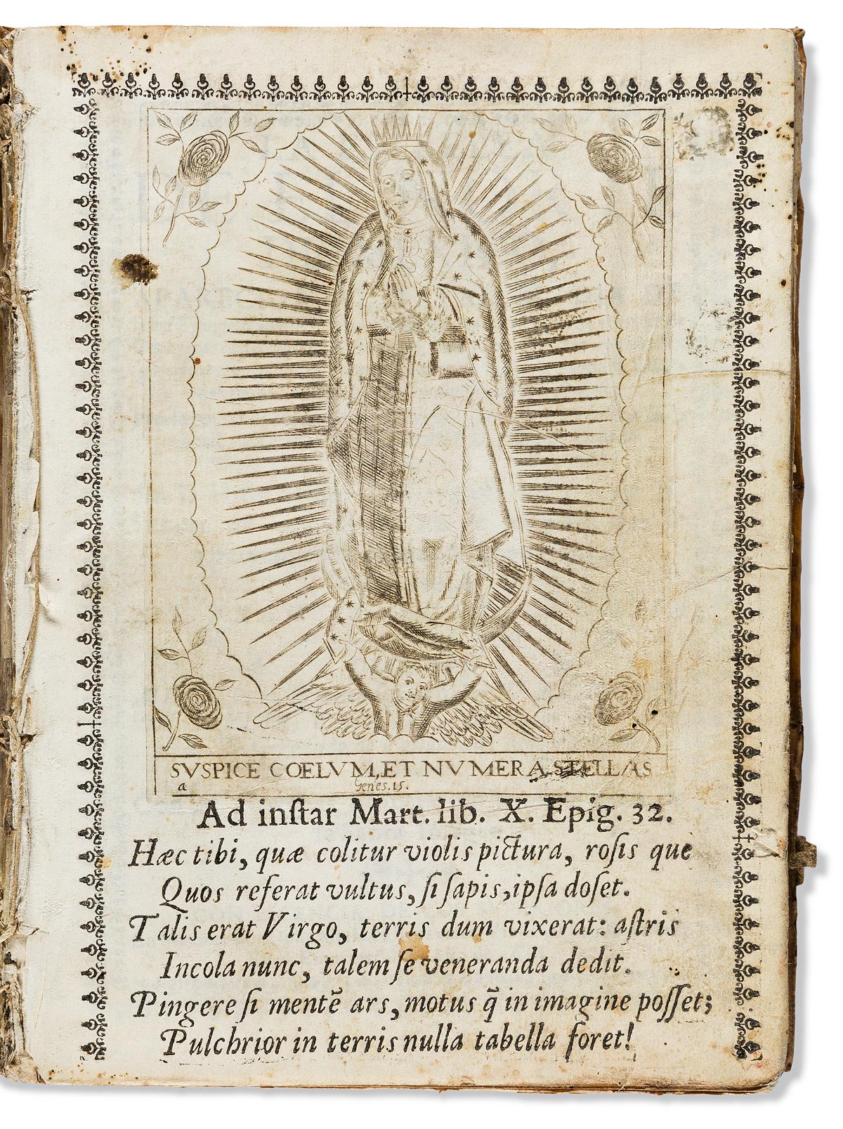 (MEXICAN IMPRINT--1688.) Francisco de Florencia. La estrella de el norte de Mexico.