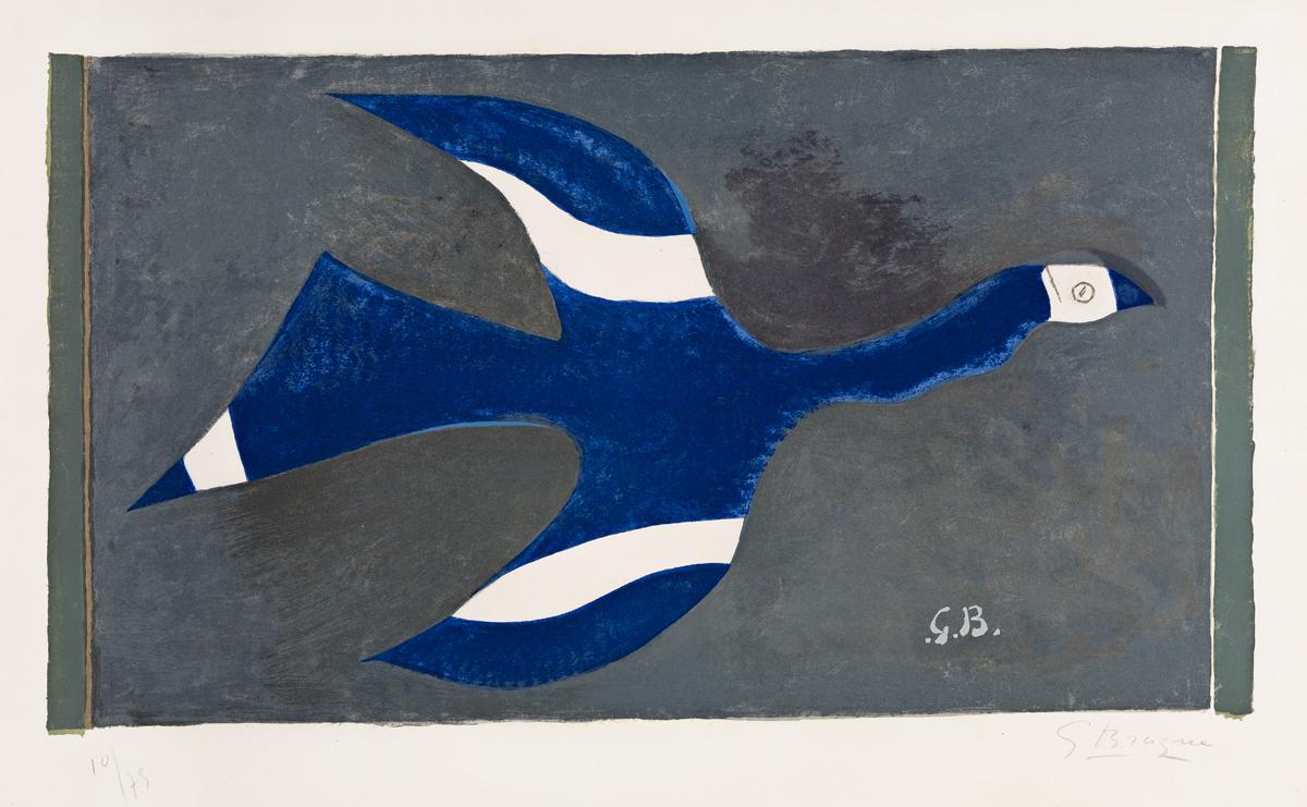 GEORGES BRAQUE Vol de Nuit (Oiseau XII).