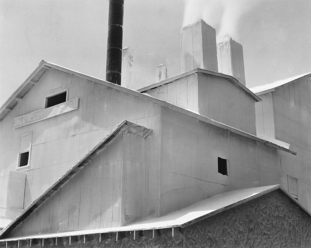 EDWARD WESTON (1886-1958)/COLE WESTON (1919-2003) Plaster Works, Los Angeles.