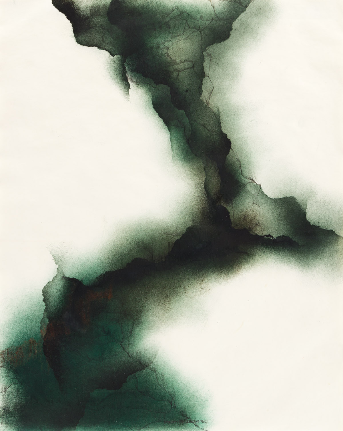NORMAN LEWIS (1909 - 1979) Untitled (Abstraction.).