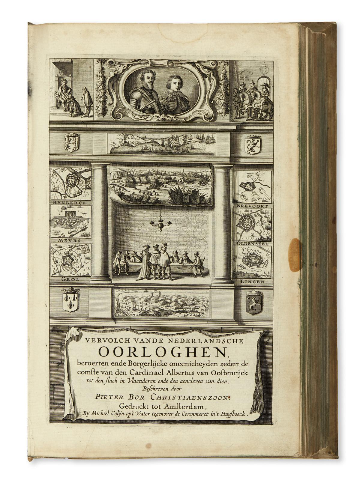 BOR-PIETER-Vervolch-van-de-Nederlandsche-Oorloghen--1634