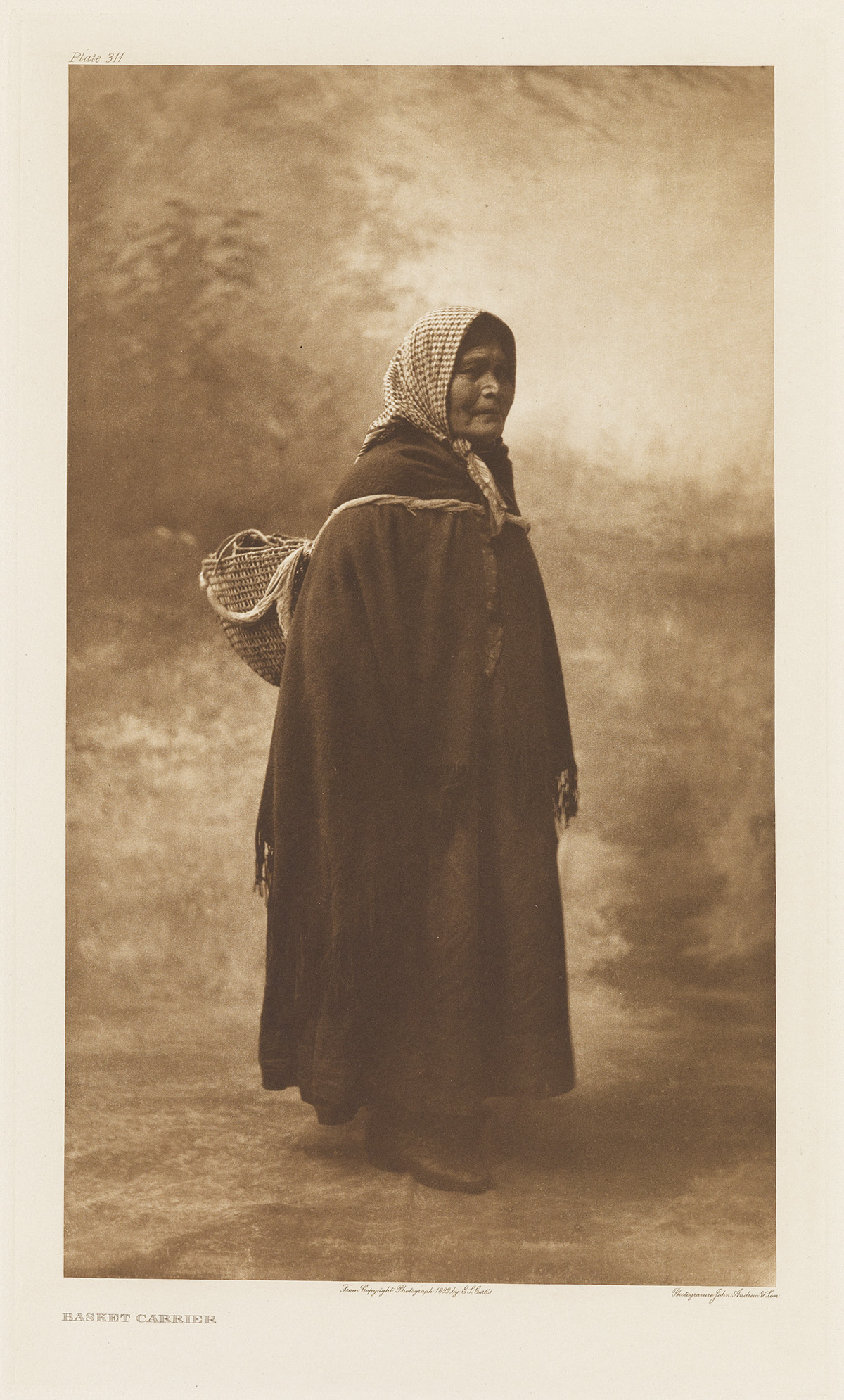 EDWARD S. CURTIS (1868-1952) The North American Indian, Portfolio IX [Puget Sound].