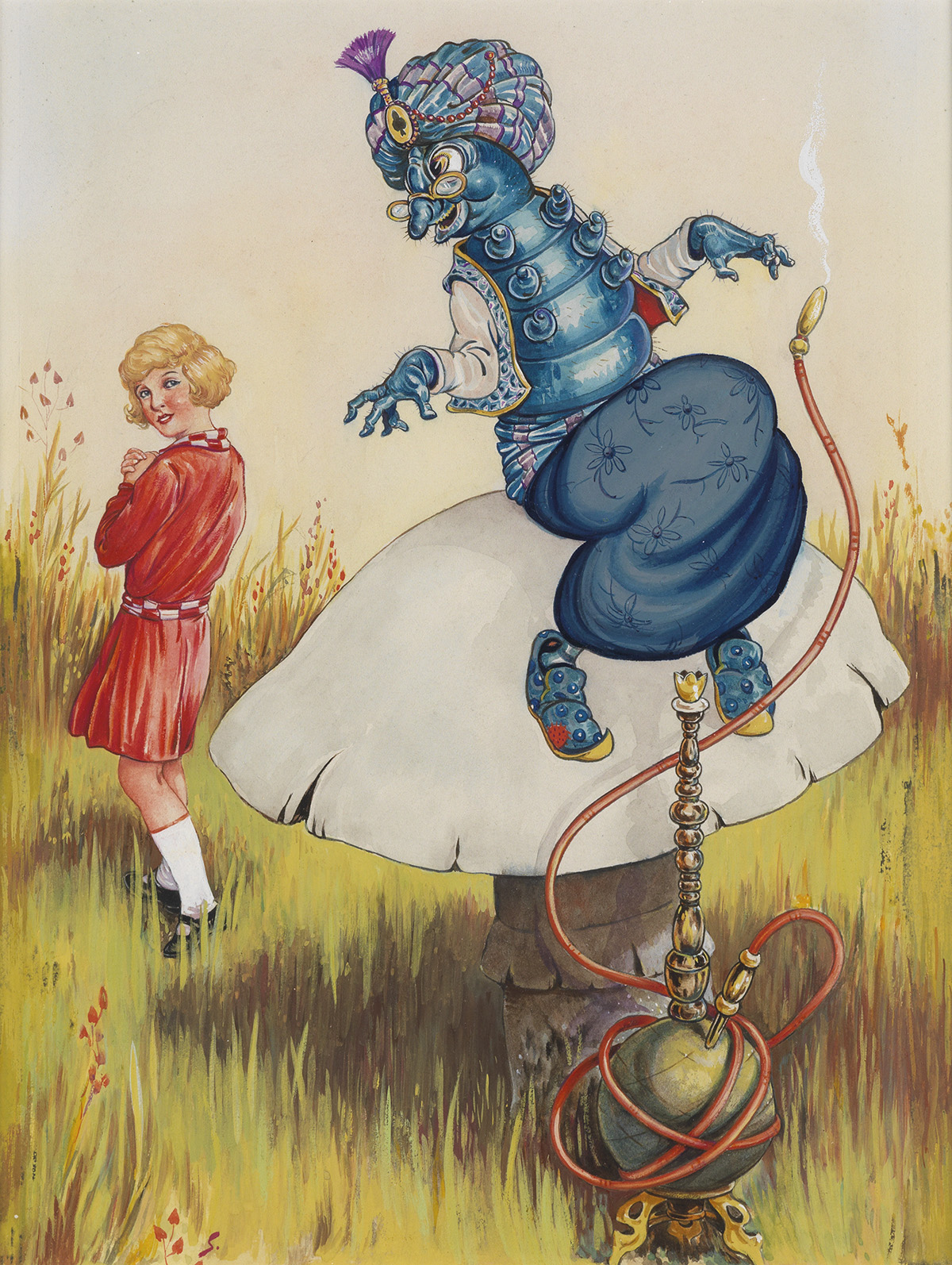 CHILDRENS ALICE IN WONDERLAND D. R. SEXTON. Come Back! the caterpillar called after her.