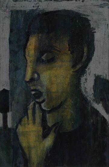 CHARLES SEBREE (1924 - 1985) Untitled (Profile).