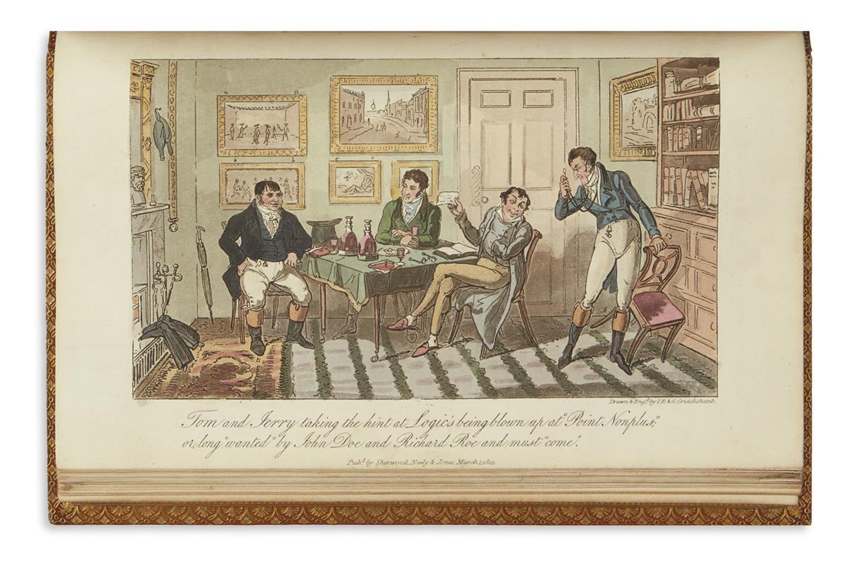 CRUIKSHANK-GEORGE-and-ISAAC-(illustrators)-Egan-Pierce-Life-