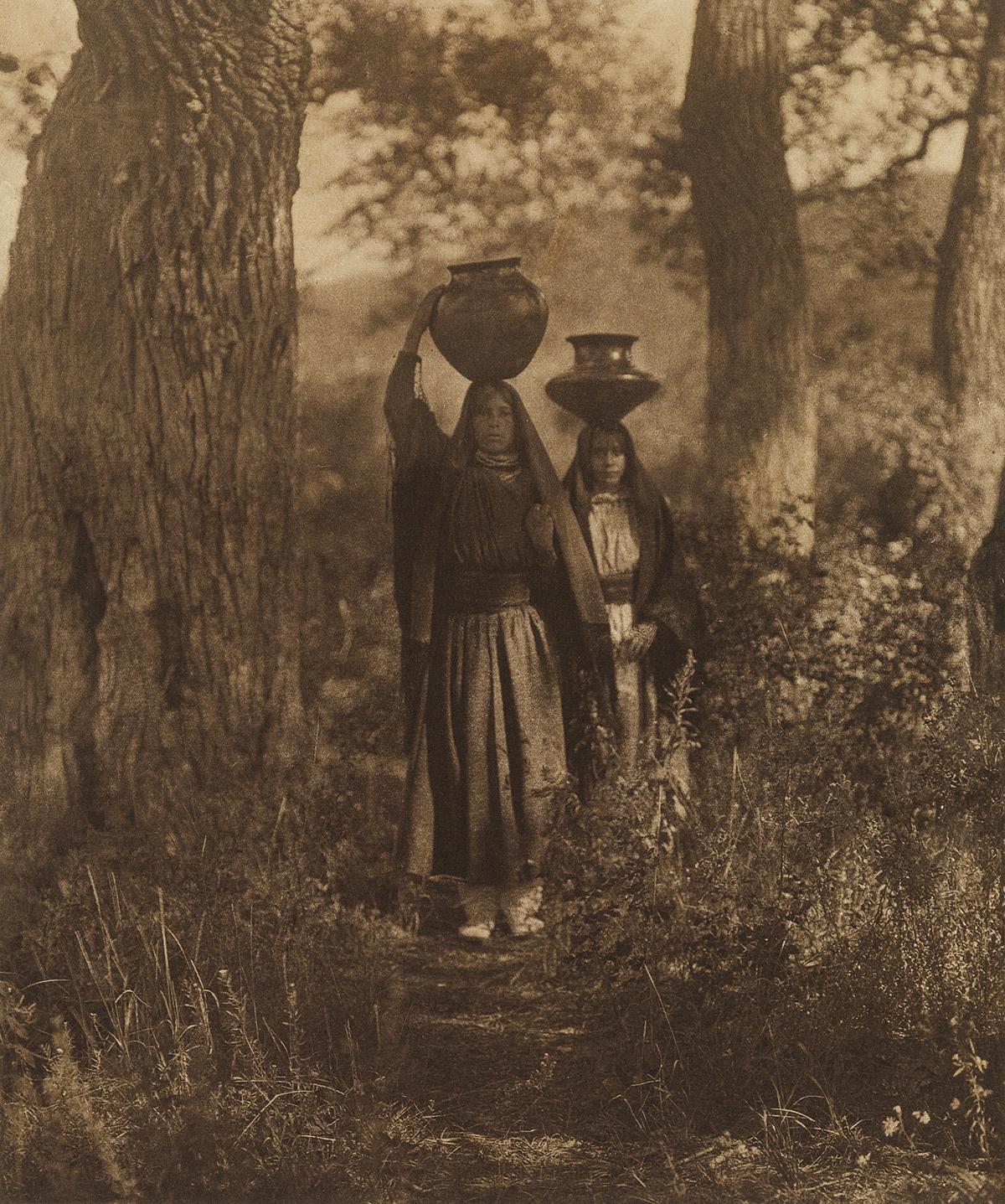 EDWARD S. CURTIS (1868-1952) The North American Indian, Portfolio XVI [Tiwa and Keres].