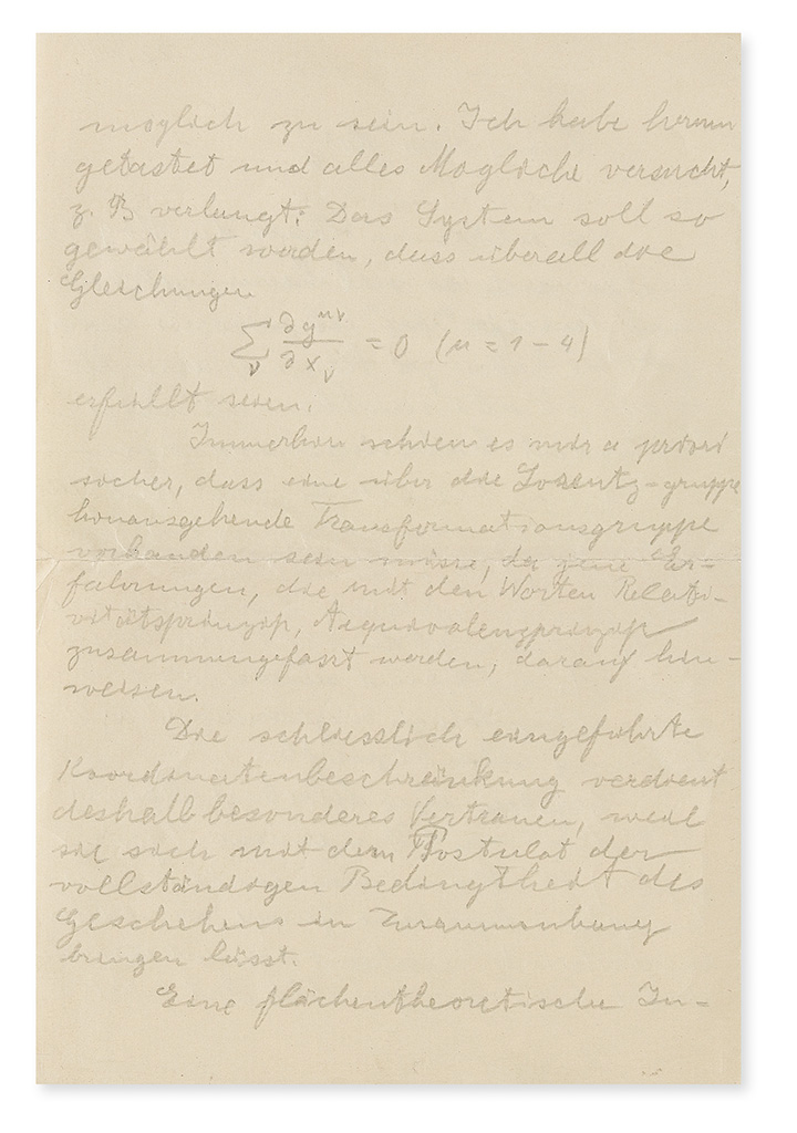 (SCIENTISTS)-EINSTEIN-ALBERT-Group-of-5-Autograph-Letters-Si