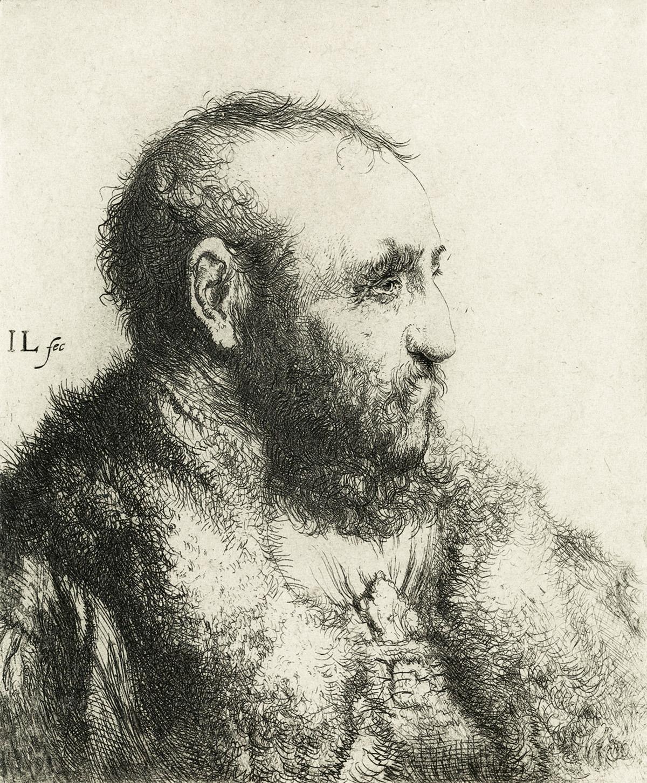 JAN-LIEVENS-Bust-of-a-Man-Wearing-a-Fur-Coat-Profile