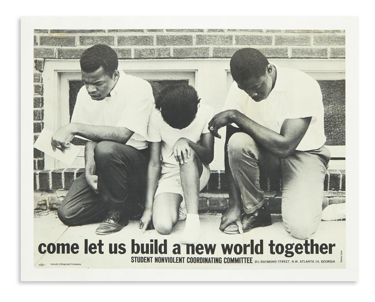 (CIVIL-RIGHTS)-Lyon-Danny;-photographer-Come-Let-Us-Build-a-