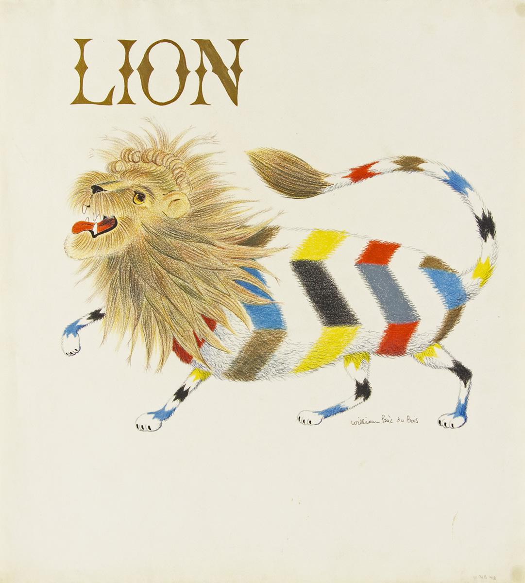 WILLIAM-PÈNE-DU-BOIS-Lion-[CHILDRENS]