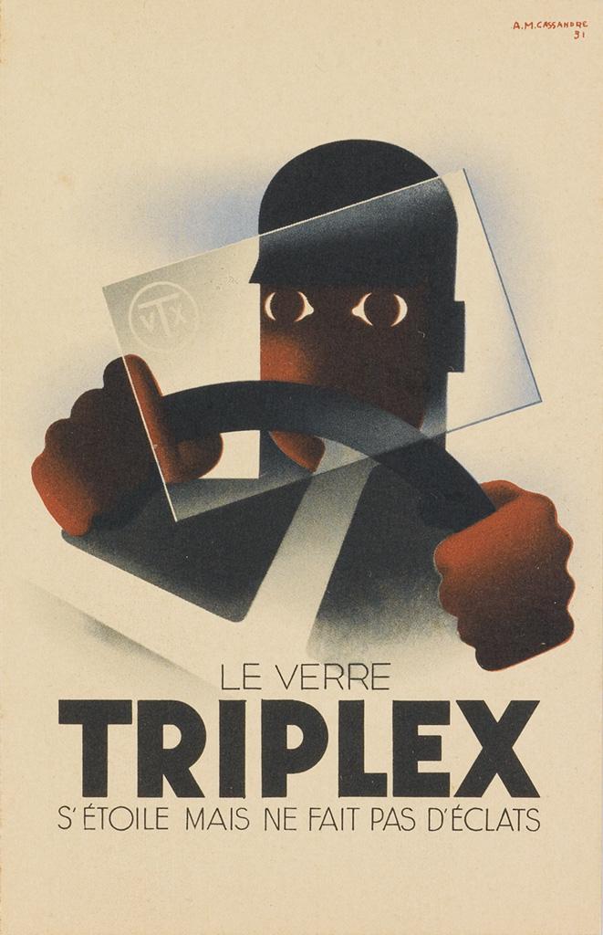 ADOLPHE-MOURON-CASSANDRE-(1901-1968)-TRIPLEX--[MAISON-PRUNIE