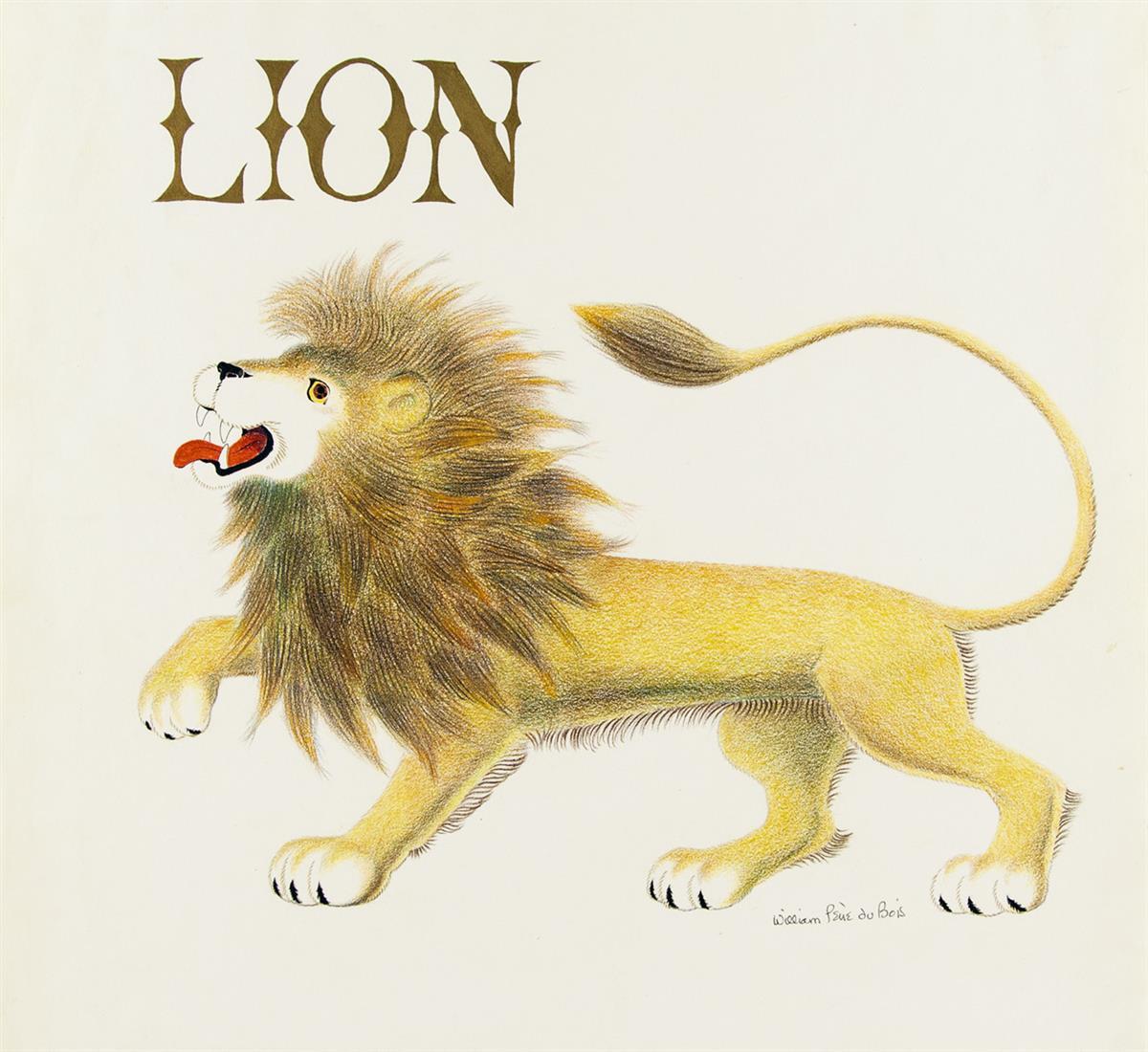 WILLIAM PÈNE DU BOIS. Lion. [CHILDRENS]