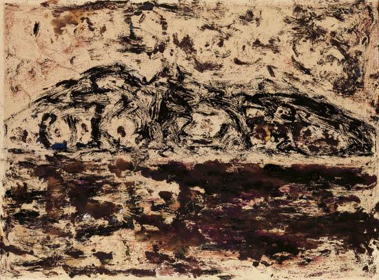 BEAUFORD DELANEY (1901 - 1979) Untitled (Istanbul, Turkey).