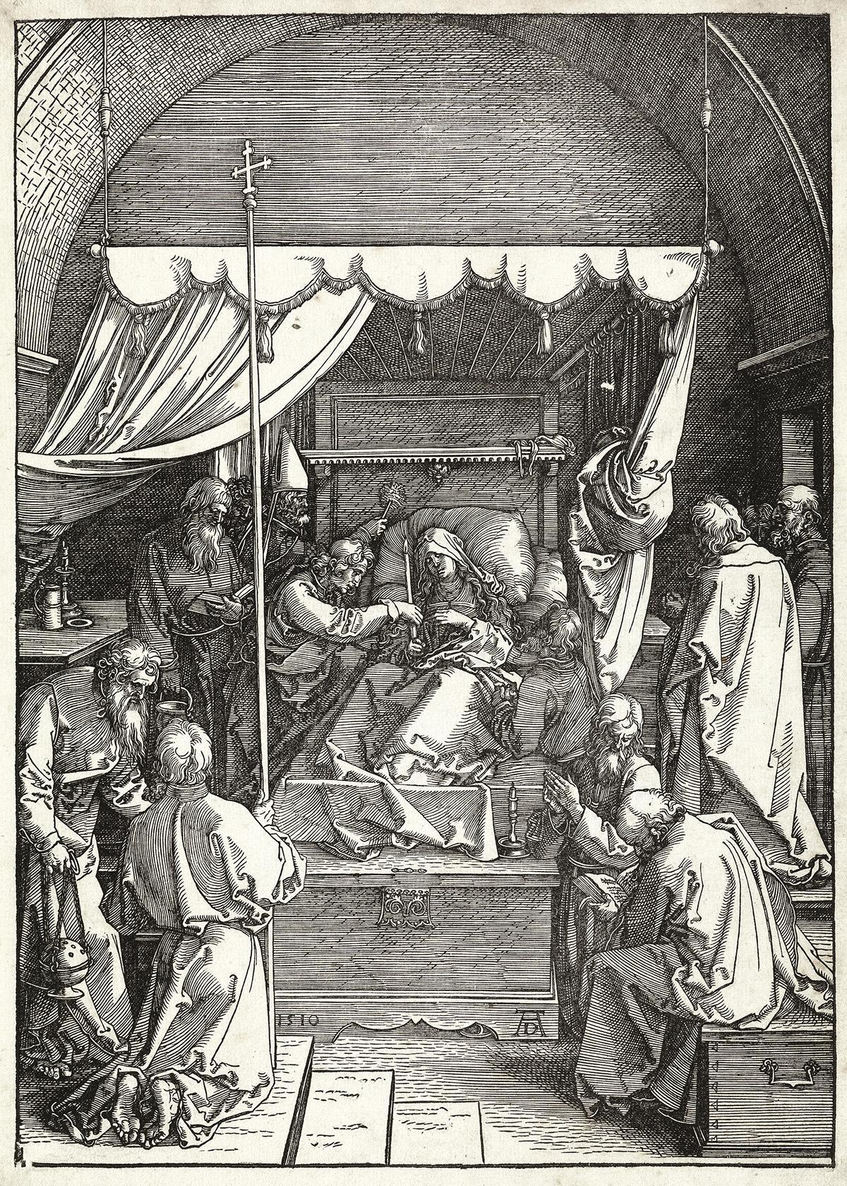 ALBRECHT DÜRER The Death of the Virgin.
