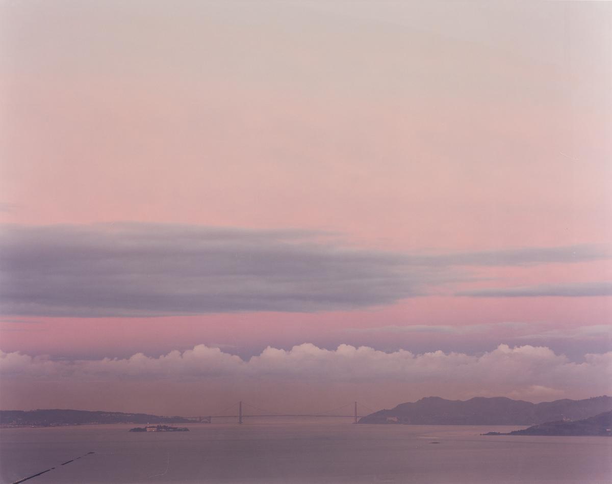 RICHARD MISRACH (1949- ) Golden Gate Bridge, 2.24.00, 6:50 A.M.