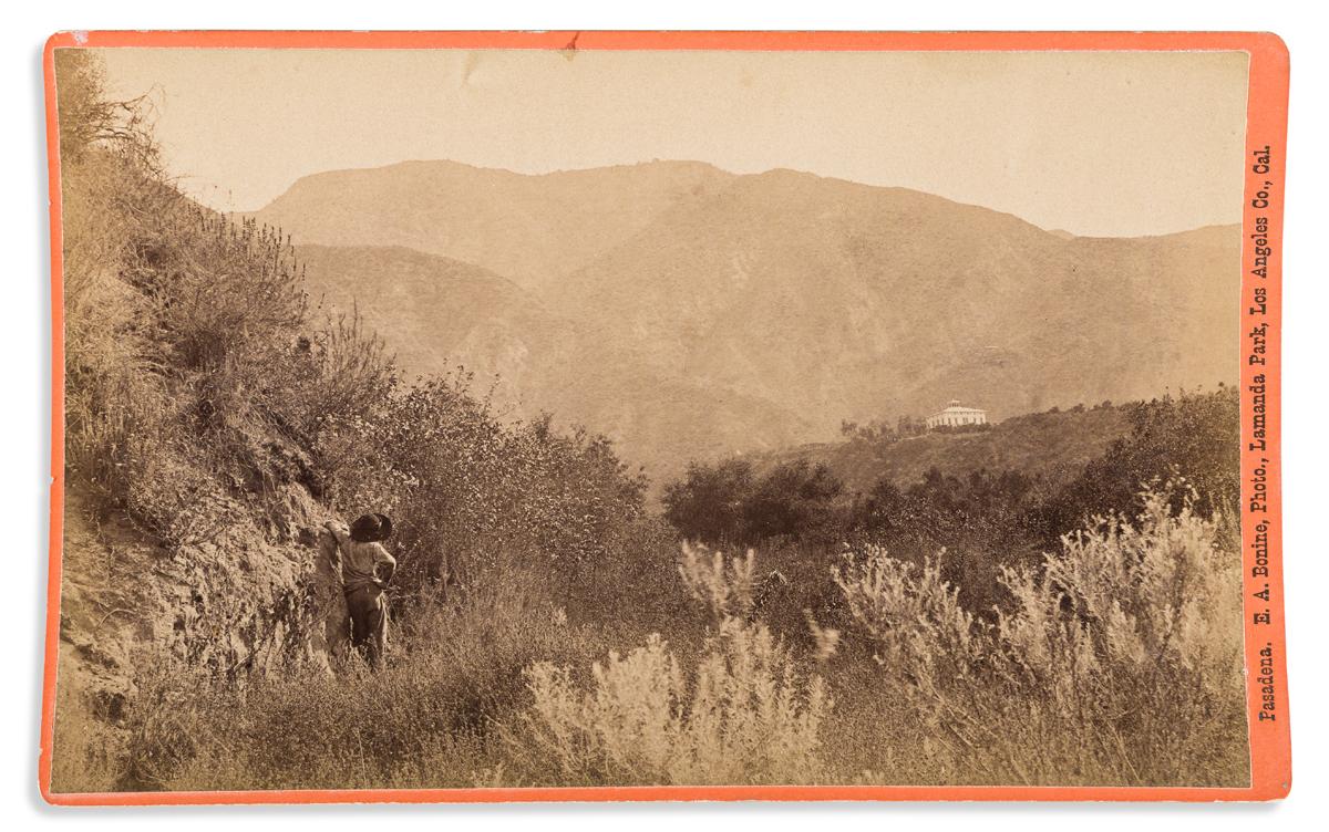 (PHOTOGRAPHY.) Image archive of the Bonine family of photographers.