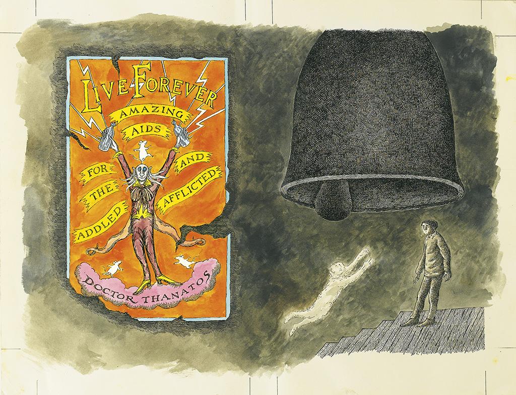 EDWARD GOREY. The Bell, the Book, and the Spellbinder.