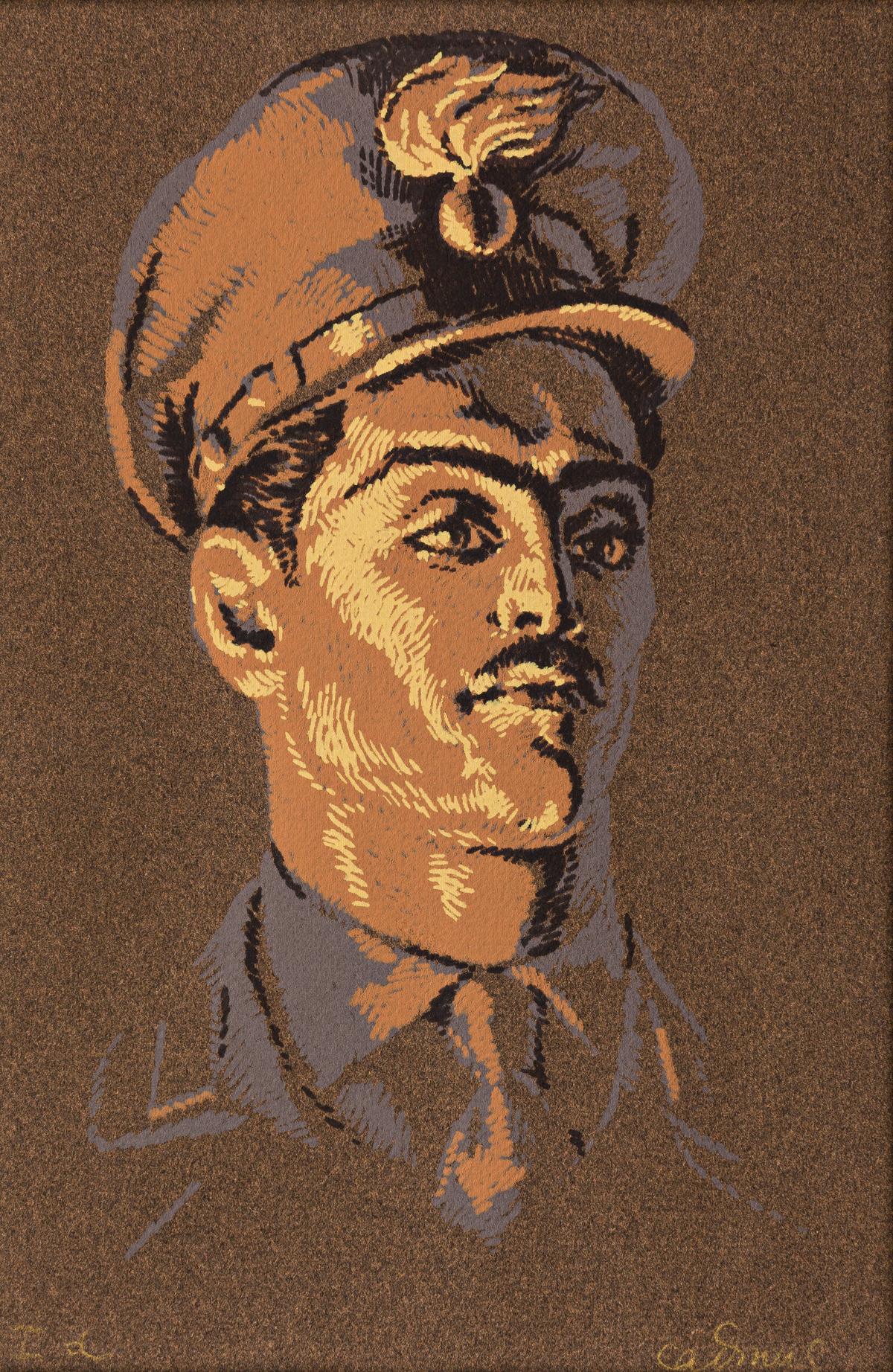 PAUL CADMUS (1904-1999) Carabiniere.