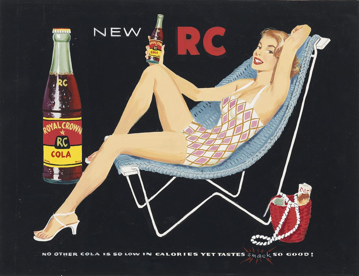 (ADVERTISING)-ROYAL-CROWN-COLA-No-other-cola-is-so-low-in-ca