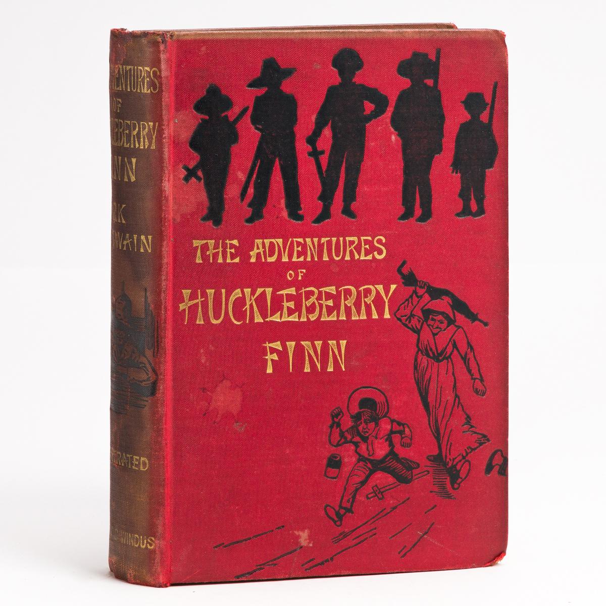 TWAIN, MARK. The Adventures of Huckleberry Finn.