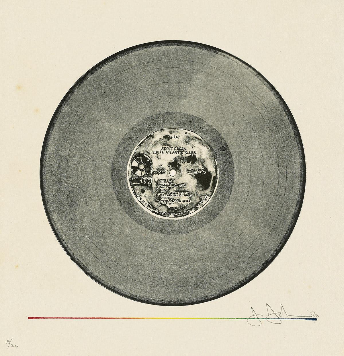 JASPER-JOHNS-Scott-Fagan-Record