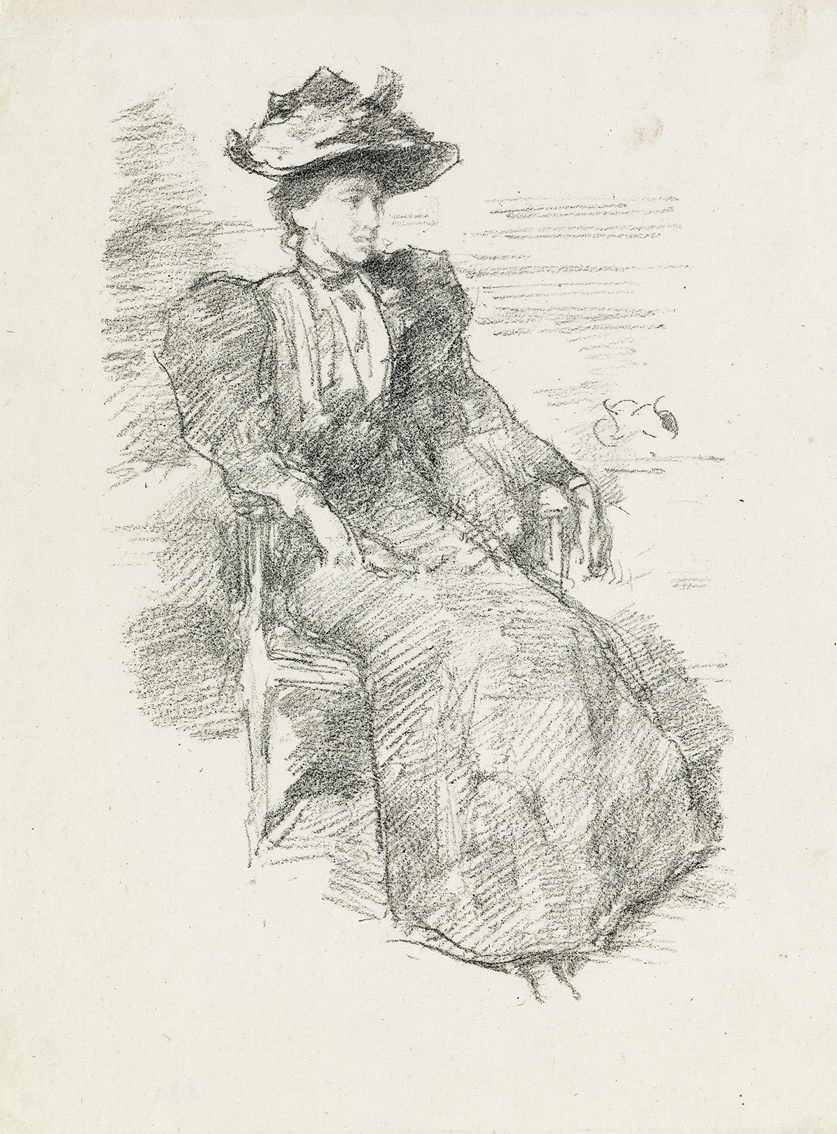 JAMES A. M. WHISTLER A Portrait: Mildred Howells.