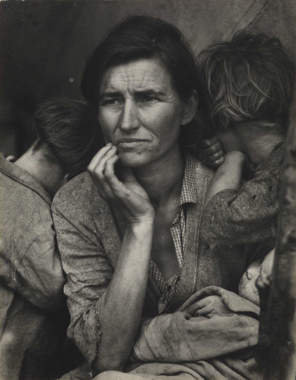 DOROTHEA-LANGE-(1895-1965)-Migrant-Mother