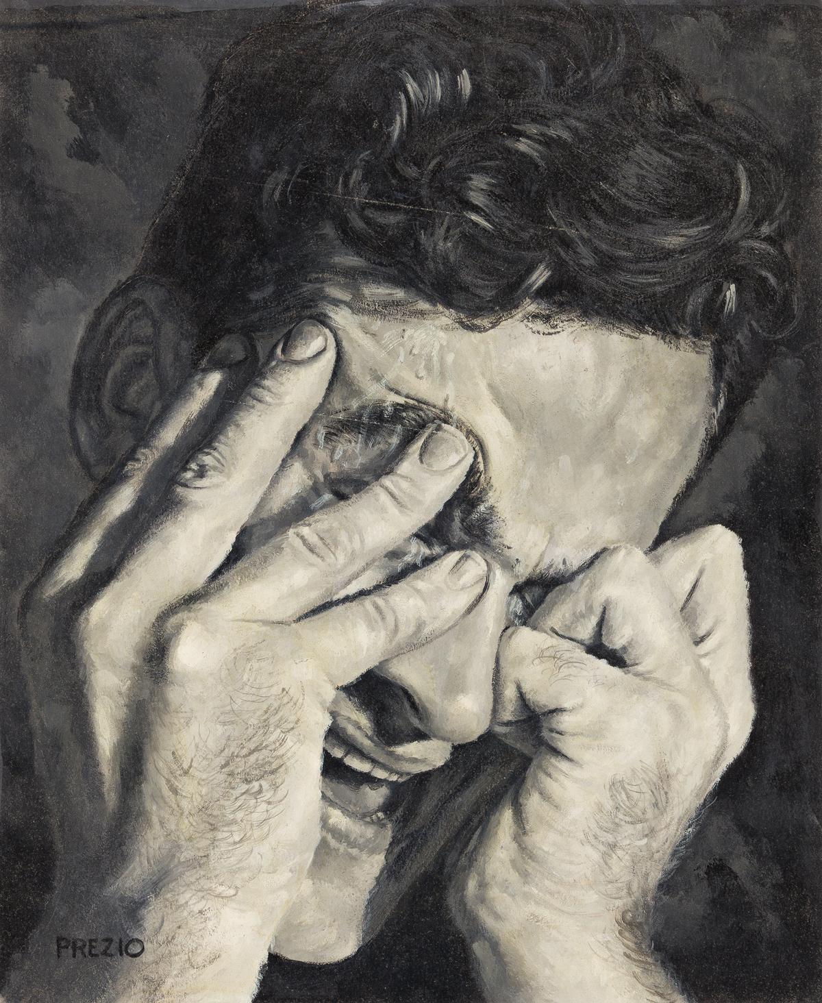 VICTOR PREZIO (1924-1976) I see, said the blind man.