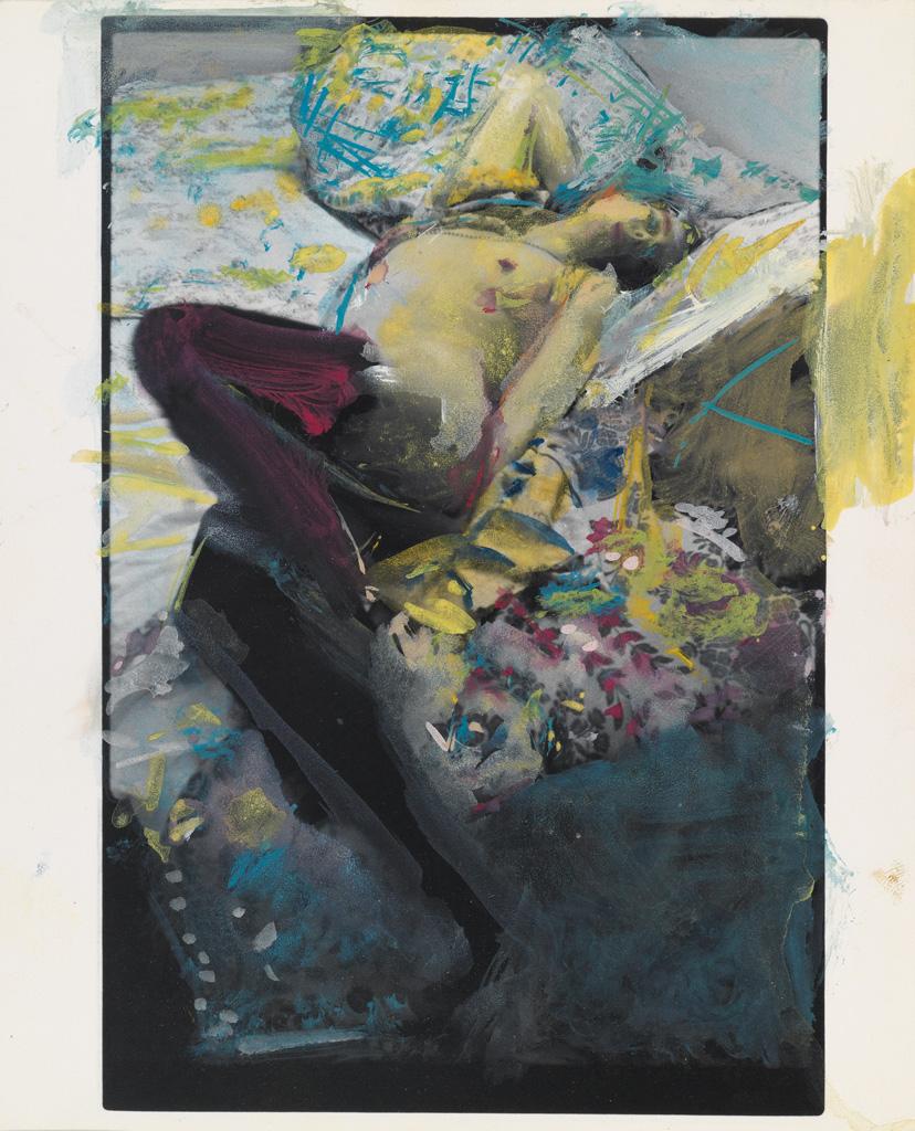 SAUL LEITER (1923-2013) Nude study.